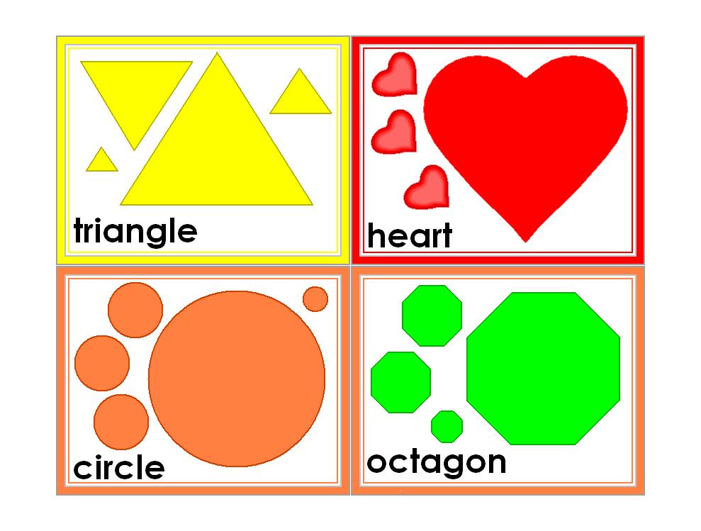 6 Best Images Of Preschool Printable Shapes Flash Cards