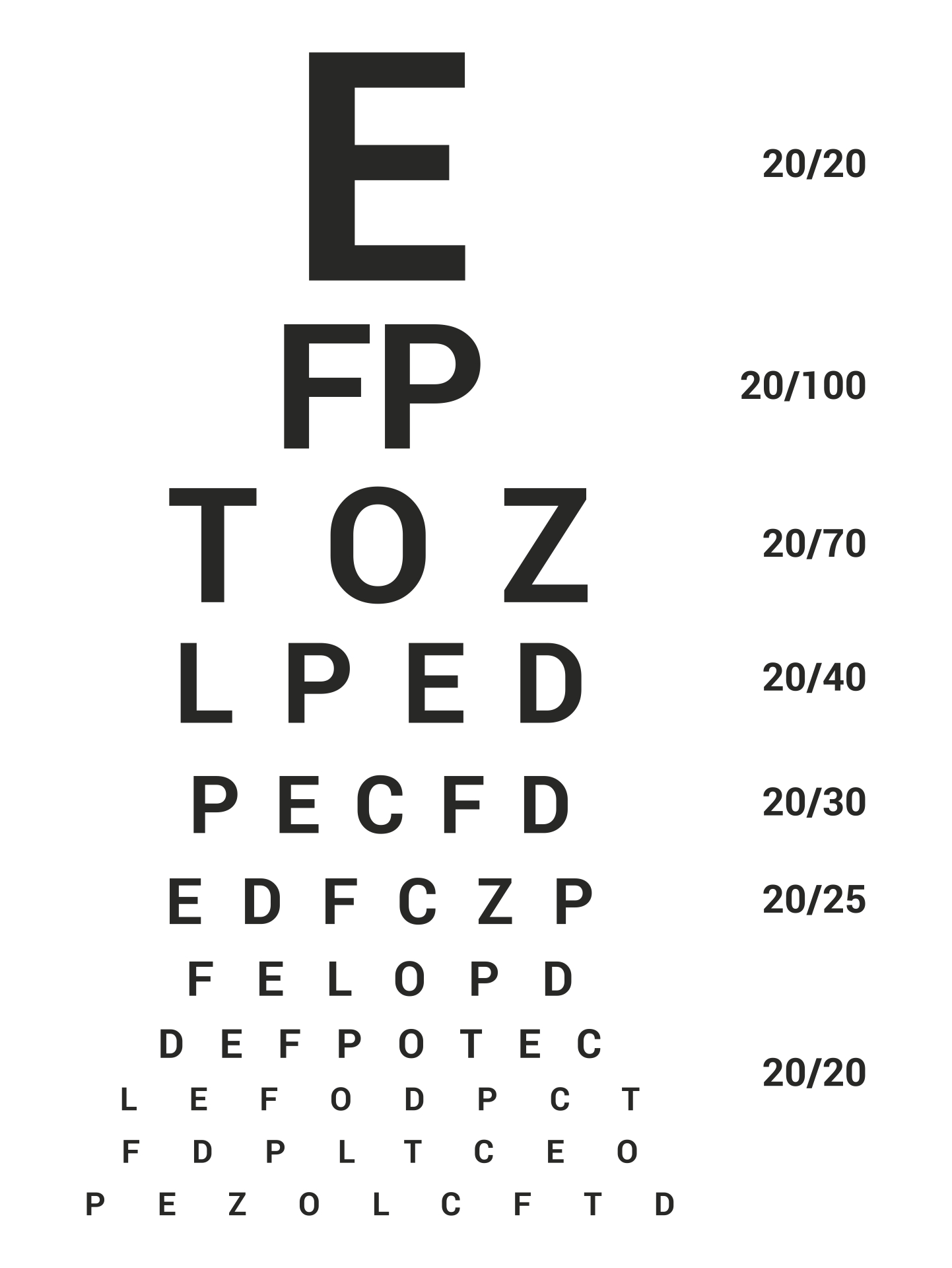 It is a graphic of Obsessed Free Printable Kindergarten Eye Chart