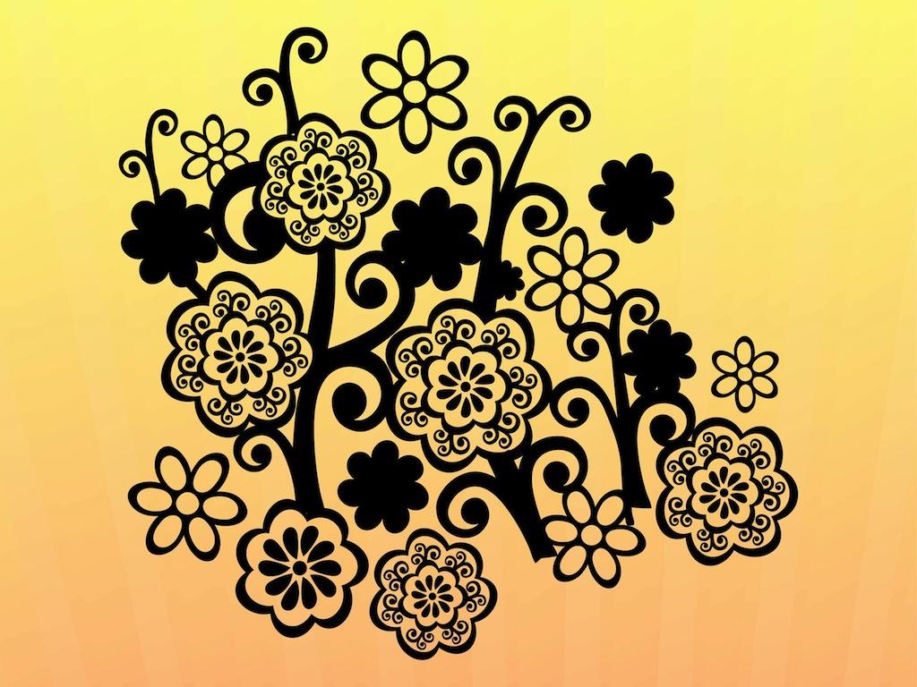 Free Printable Floral Print