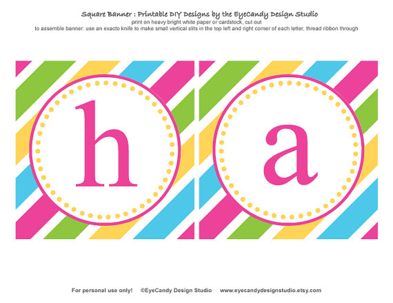 6 Images of Happy Birthday Cupcake Banner Printable