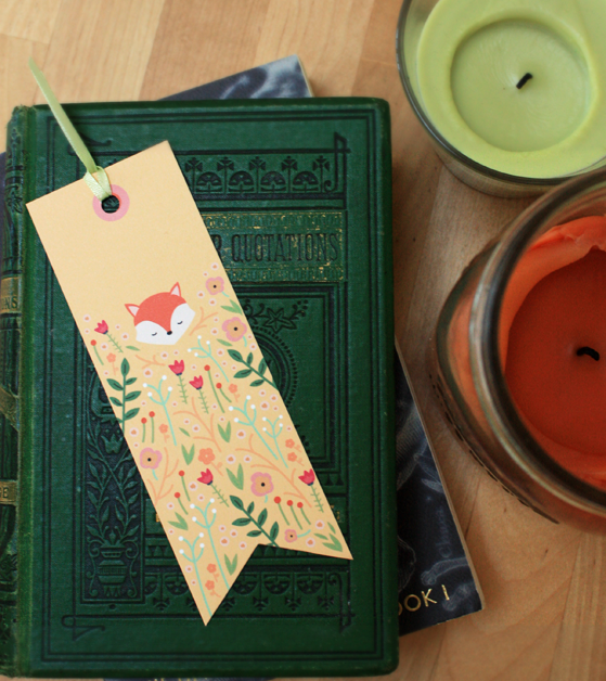 8 Images of Free Woodland Animal Printable Bookmarks