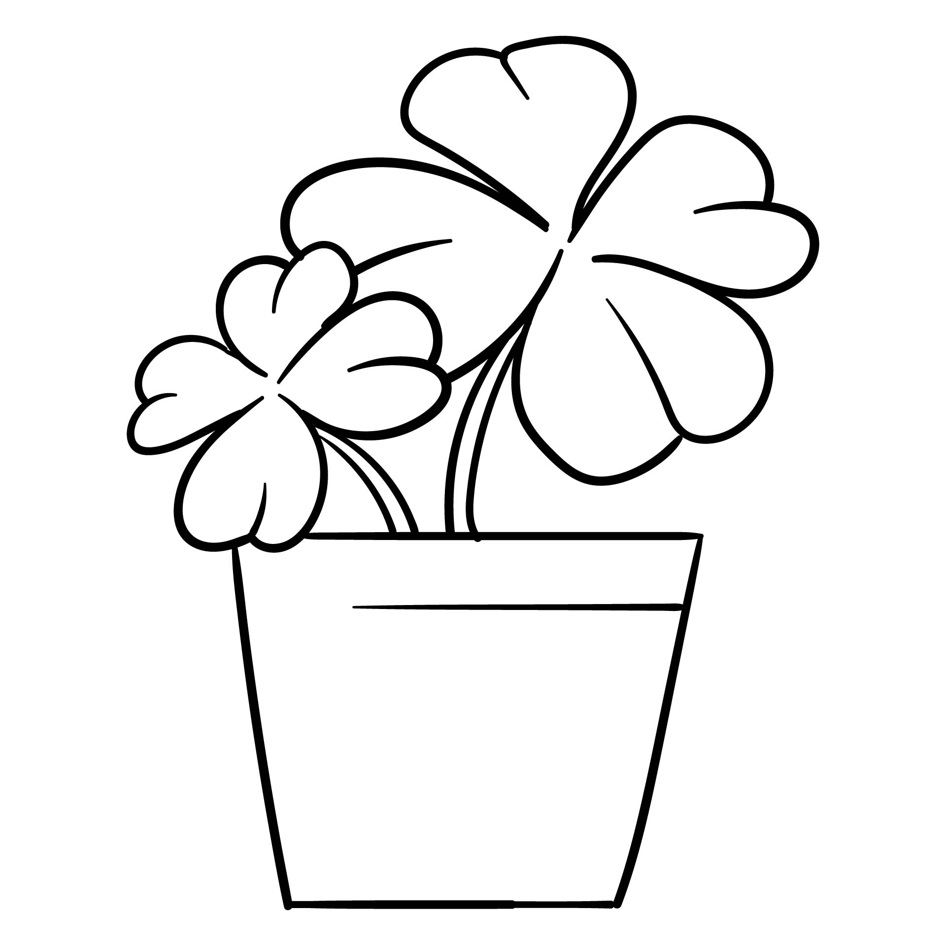 shamrock cut out template - printable shamrock coloring pages coloring pages