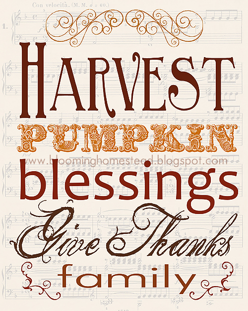 Free Printable Thanksgiving Art