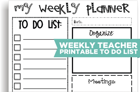 7 Images of Teacher Printable To Do List