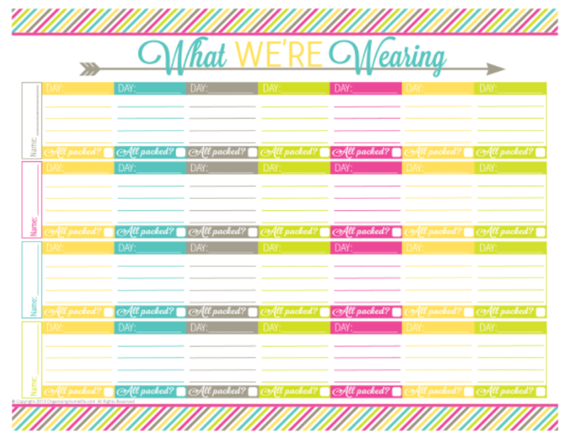 7 Best Images Of Free Printable Itinerary Free Printable
