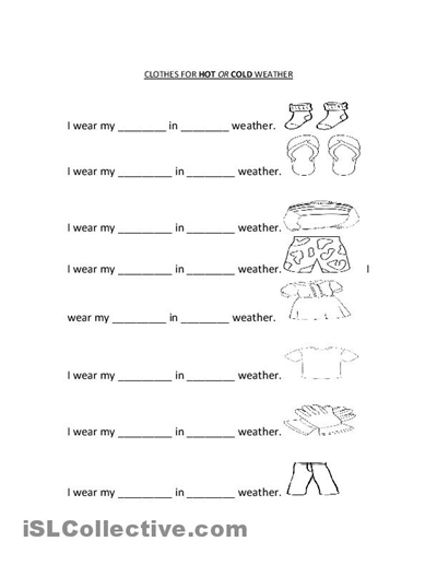 math worksheet : 8 best images of weather free printable kindergarten worksheets  : Kindergarten Weather Worksheets
