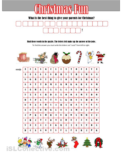 See Secret Code Message Worksheets, Fun Christmas Worksheets High ...