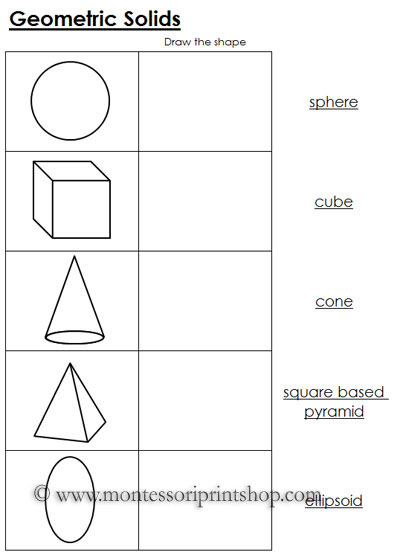 Printables Free Printable Geometry Worksheets geometry worksheets for preschoolers intrepidpath 7 best images of montessori printable bead