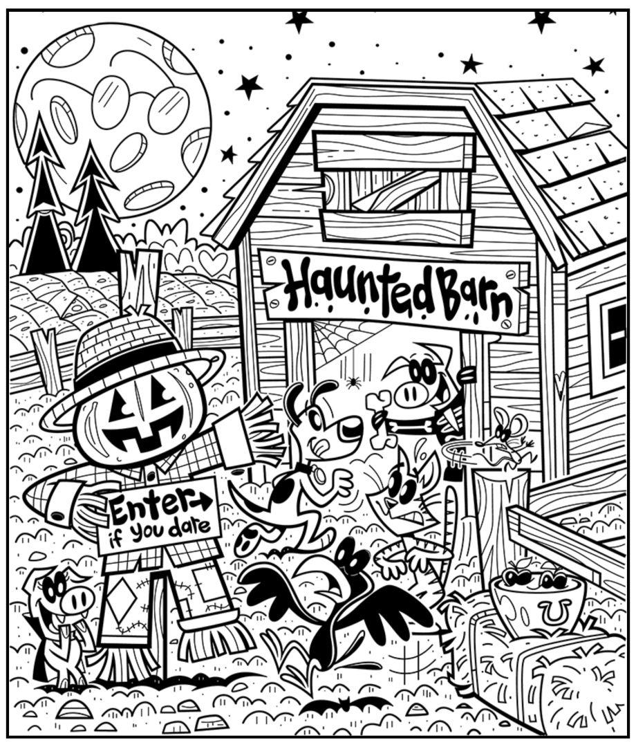 Halloween Highlight Printable Hidden Picture