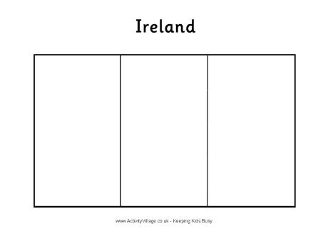 world flag coloring pages - 4 best images of free printable world flag of ireland