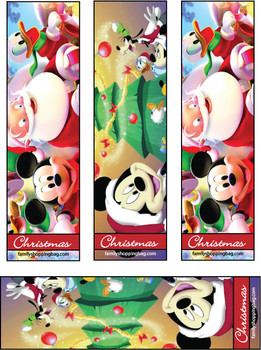 5 Images of Mickey Mouse Bookmarks Free Printable