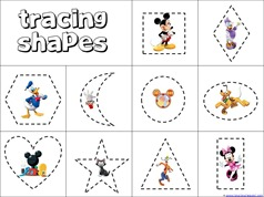 6 Images of Mickey Mouse Activities Printables