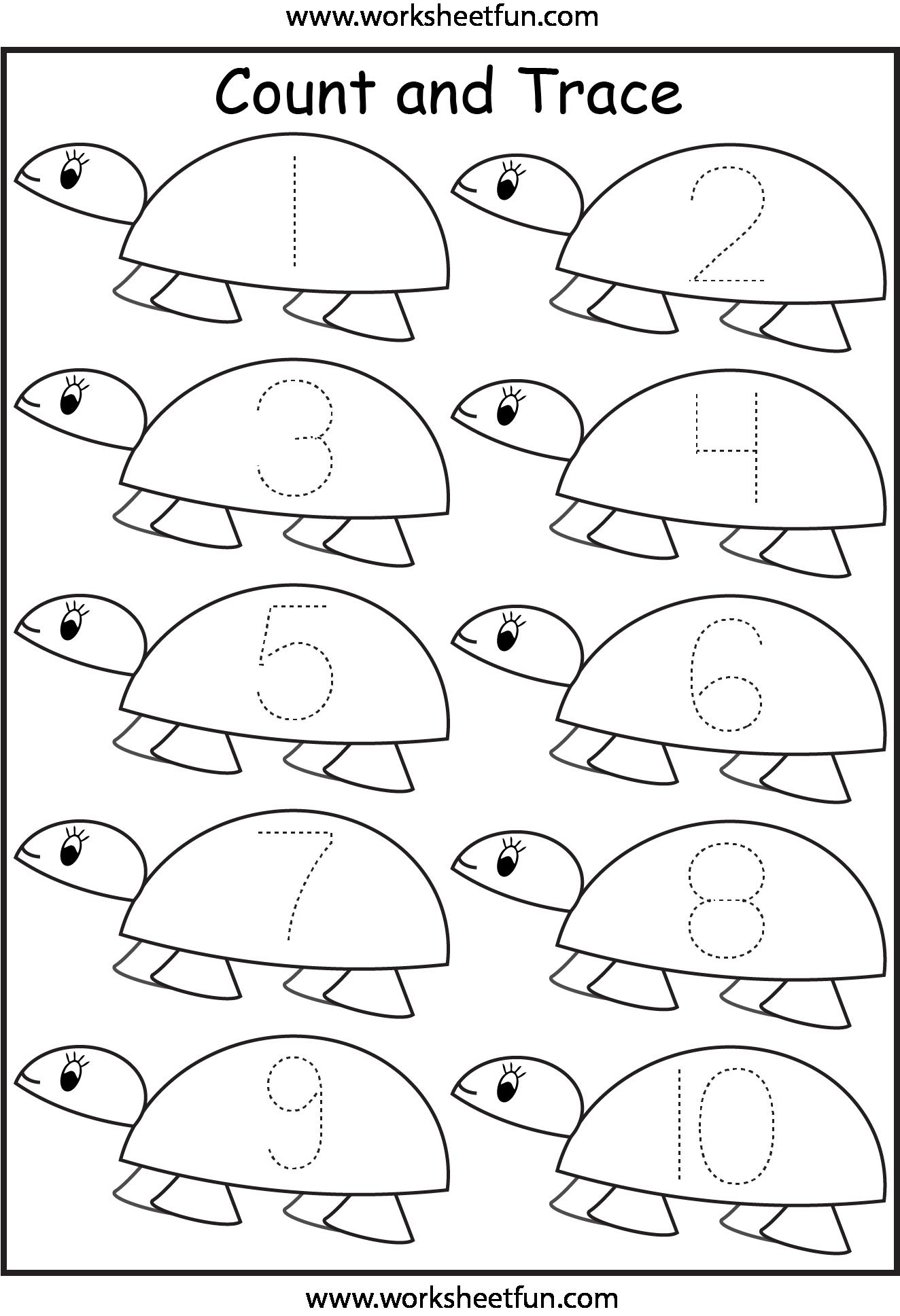 7 Best Images of Free Printable Worksheets Numbers 1-10 ...