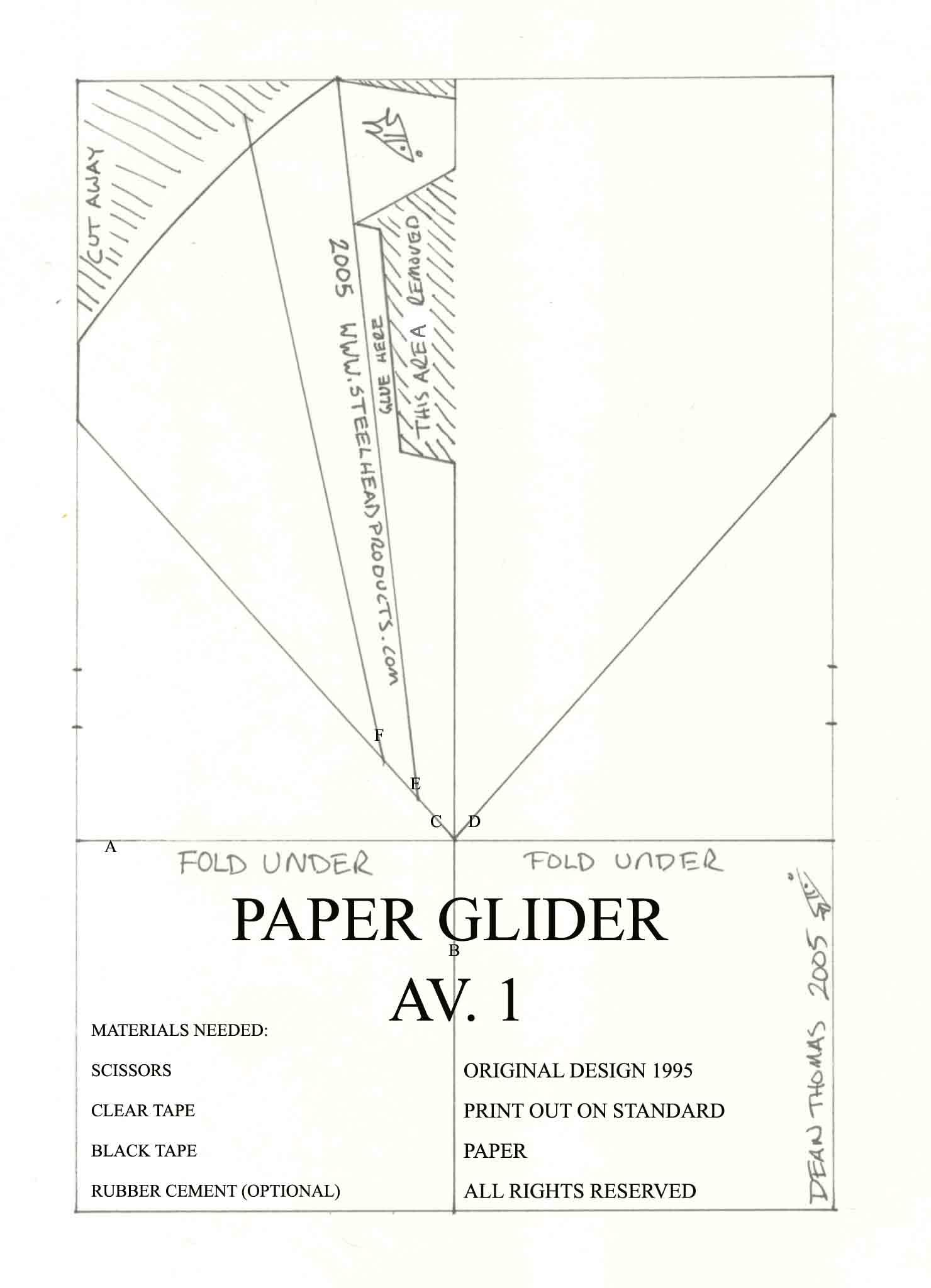 Printable Airplane Shapes — Printable Treats.com