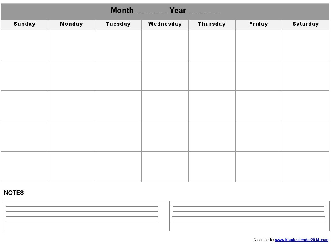6 Images of Printable Weekly Calendar With Notes