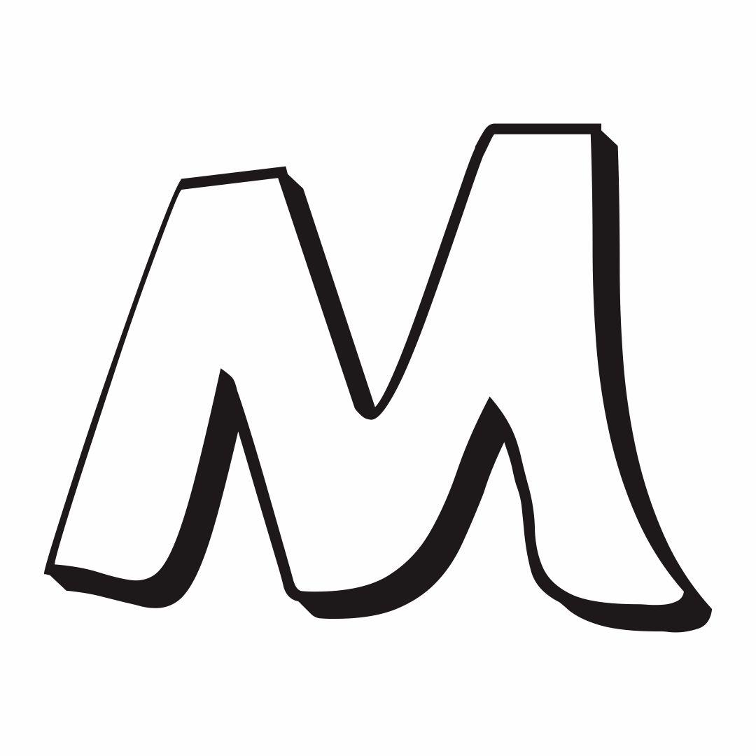 Printable Bubble Letters M