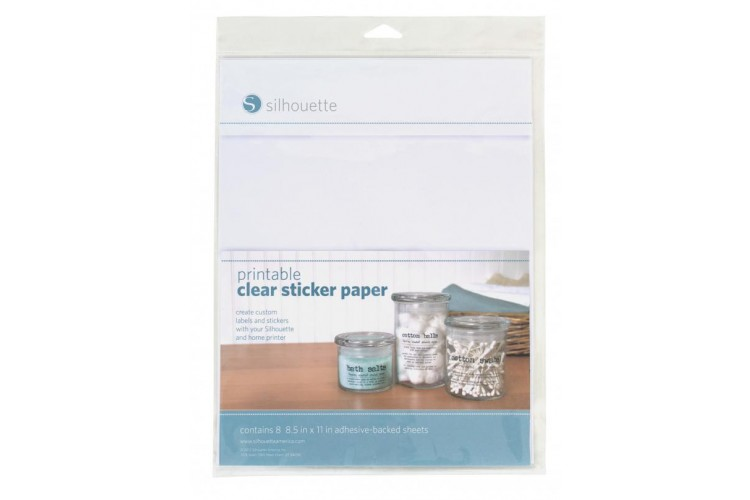 Zany image pertaining to clear printable paper