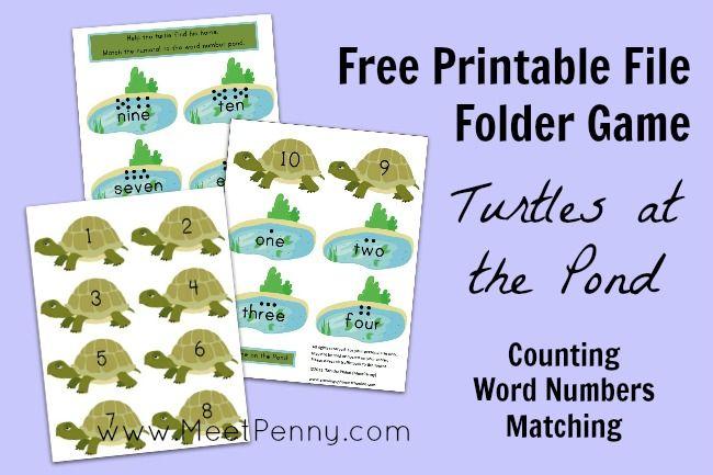 5 Images of Free Printable File Folder Games