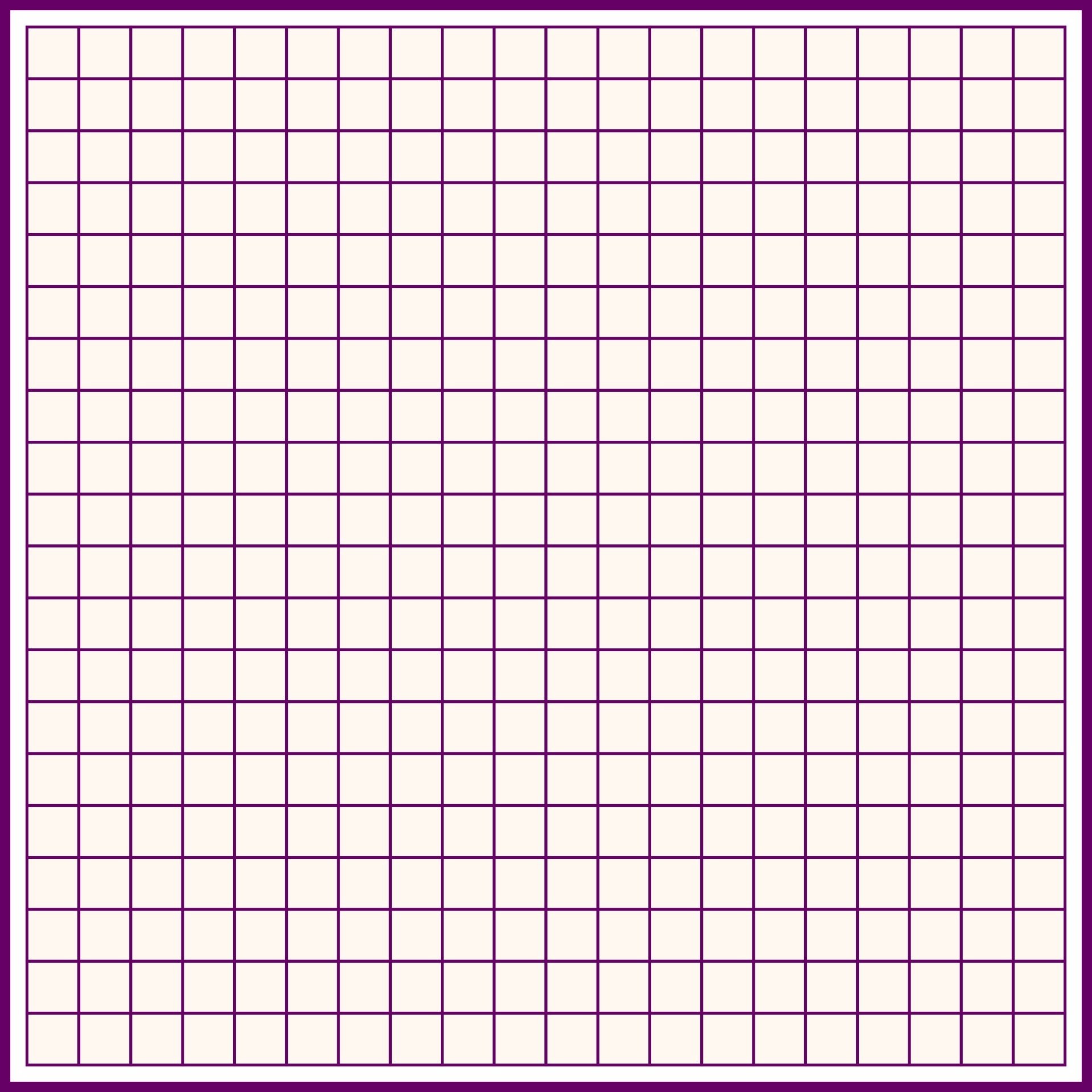 Printable Grid Graph Paper 20