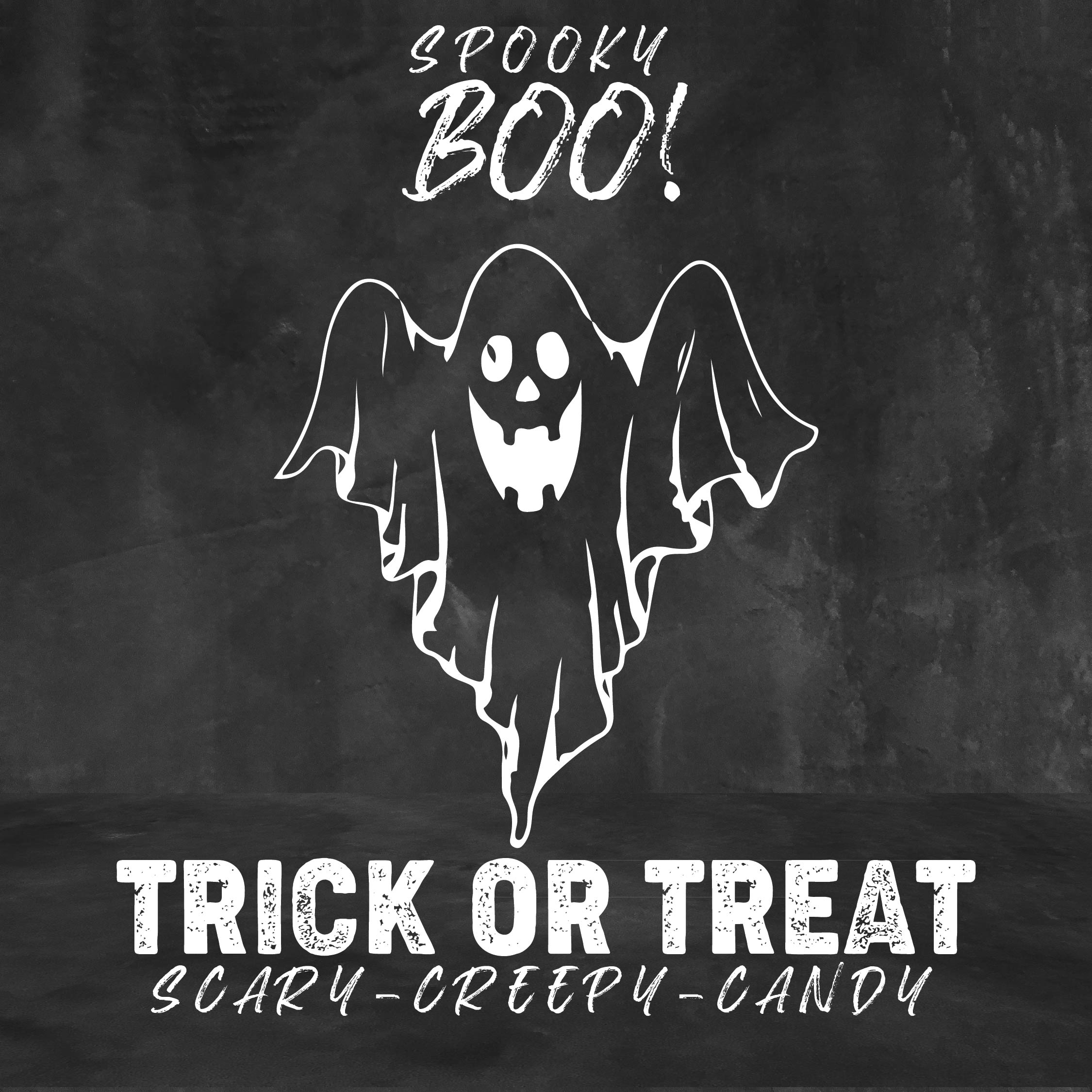 Printable Halloween Chalkboard Art