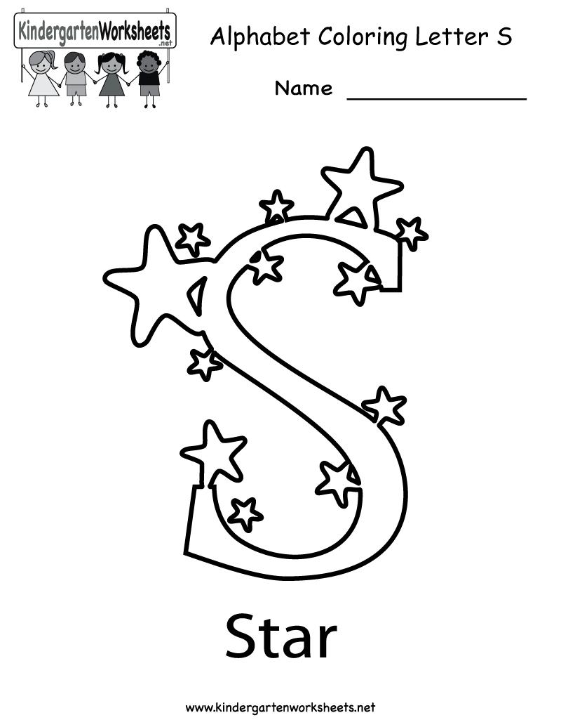 math worksheet : letter s worksheets letter s 5 letter s worksheets s worksheet  : Kindergarten Letter Worksheets Free