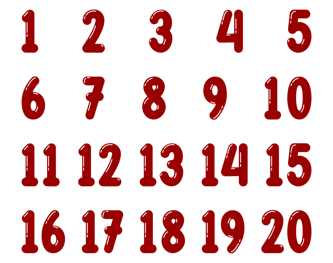 5 Best Printable Numbers 1-10 For Preschoolers ...