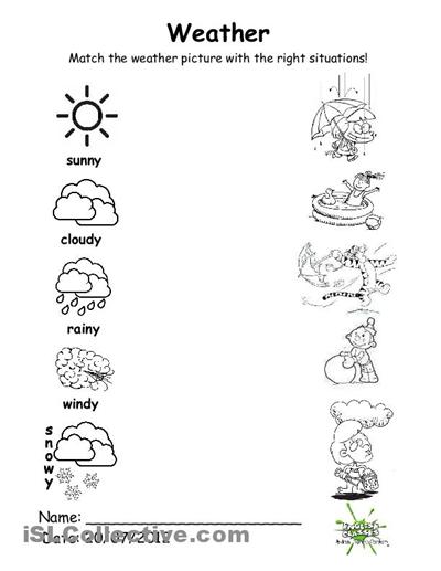 Number Names Worksheets » Kindergarten Matching Worksheets - Free ...