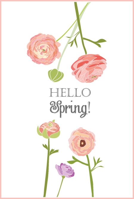 5 Images of Inspirational Spring Printable