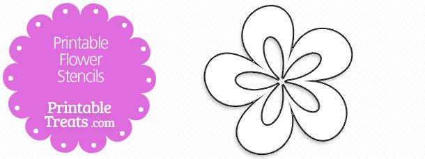 Stencil Flowers Printable Free