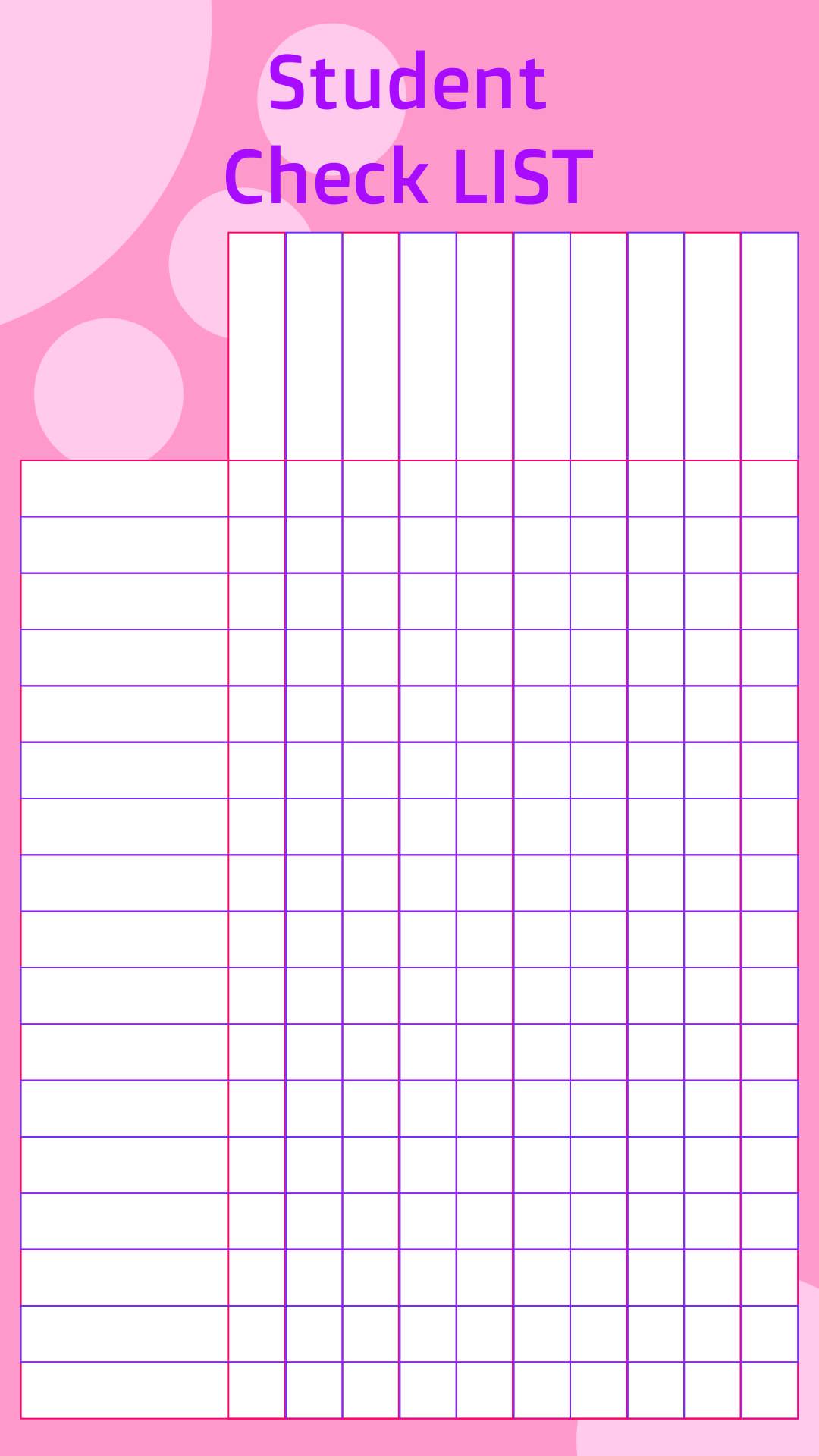 5 Images of Free Printable Homework Checklist
