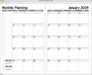 6 best images of 2 page monthly planner printable free for 2 page weekly calendar template