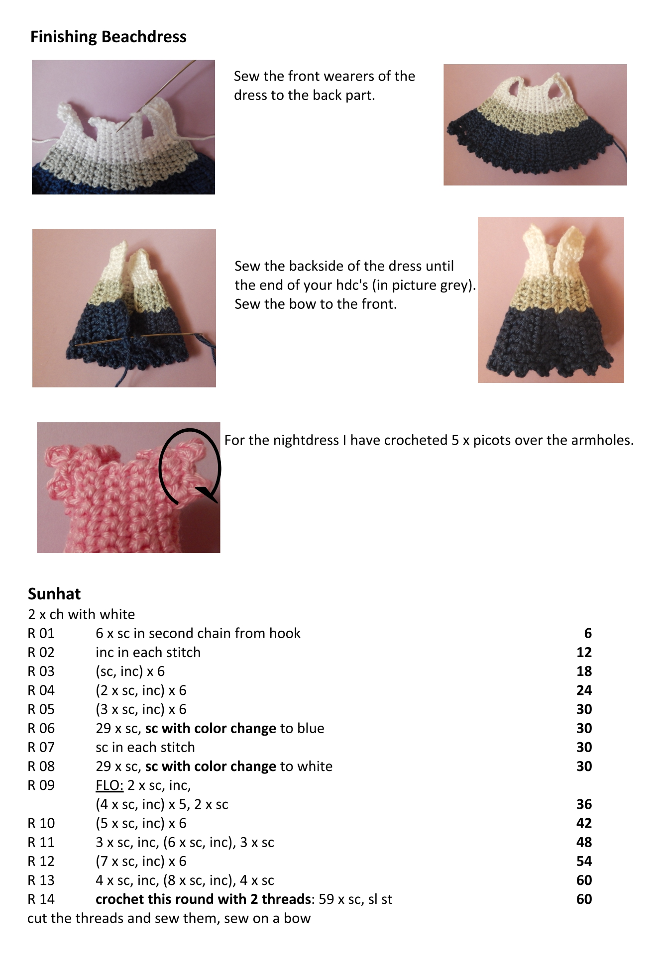 Baby Doll Crochet Patterns Free