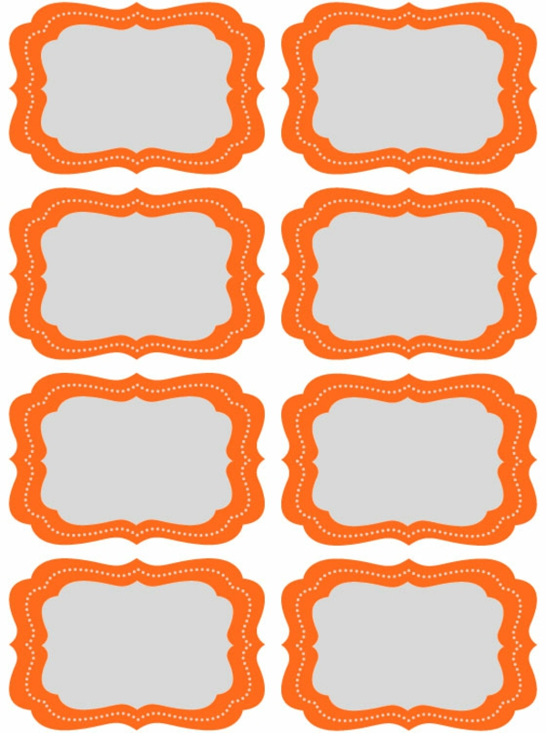 8 Images of Blank Printable Candy Buffet Labels
