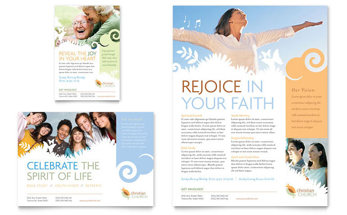 7 Images of Free Printable Religious Flyer Designs