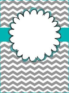 7 Images of Cute Printable Binder Cover Templates