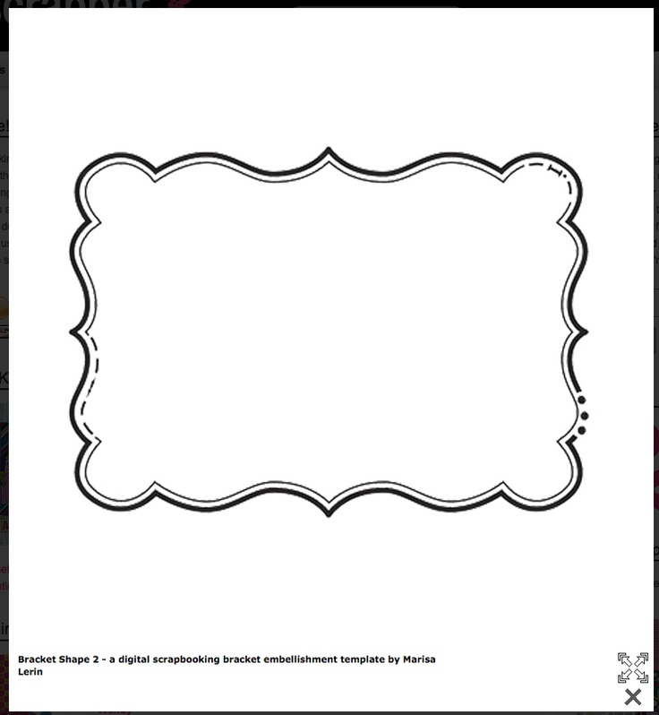 9 Images of Shape Template Free Printable Stencil