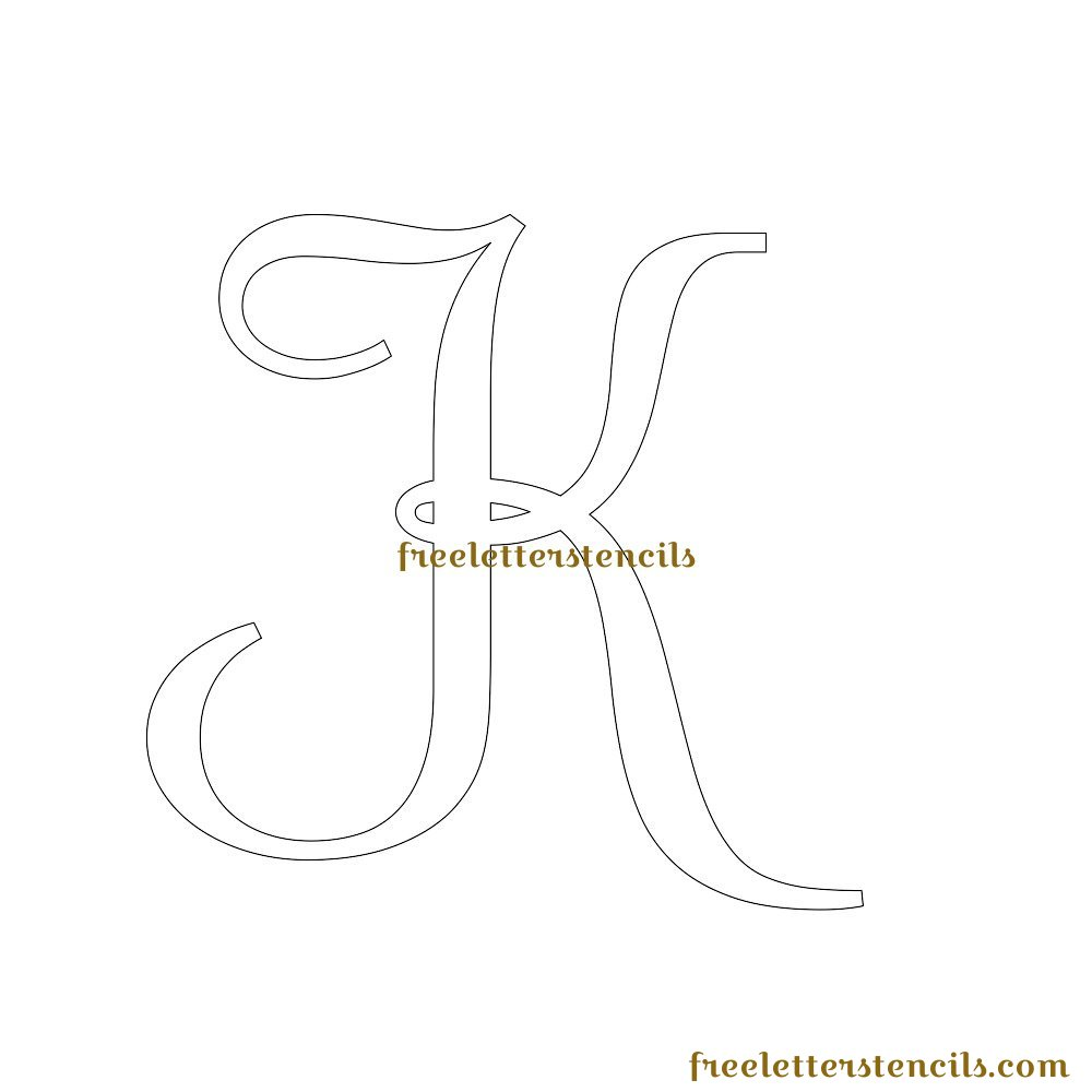 free printable alphabet templates - free letters to print and cut out 1000 images about