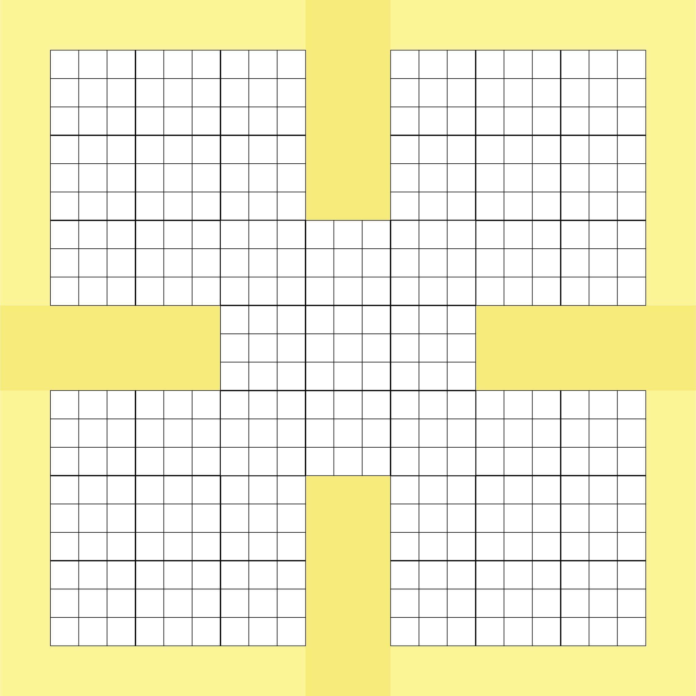 Printable Blank Sudoku Grids