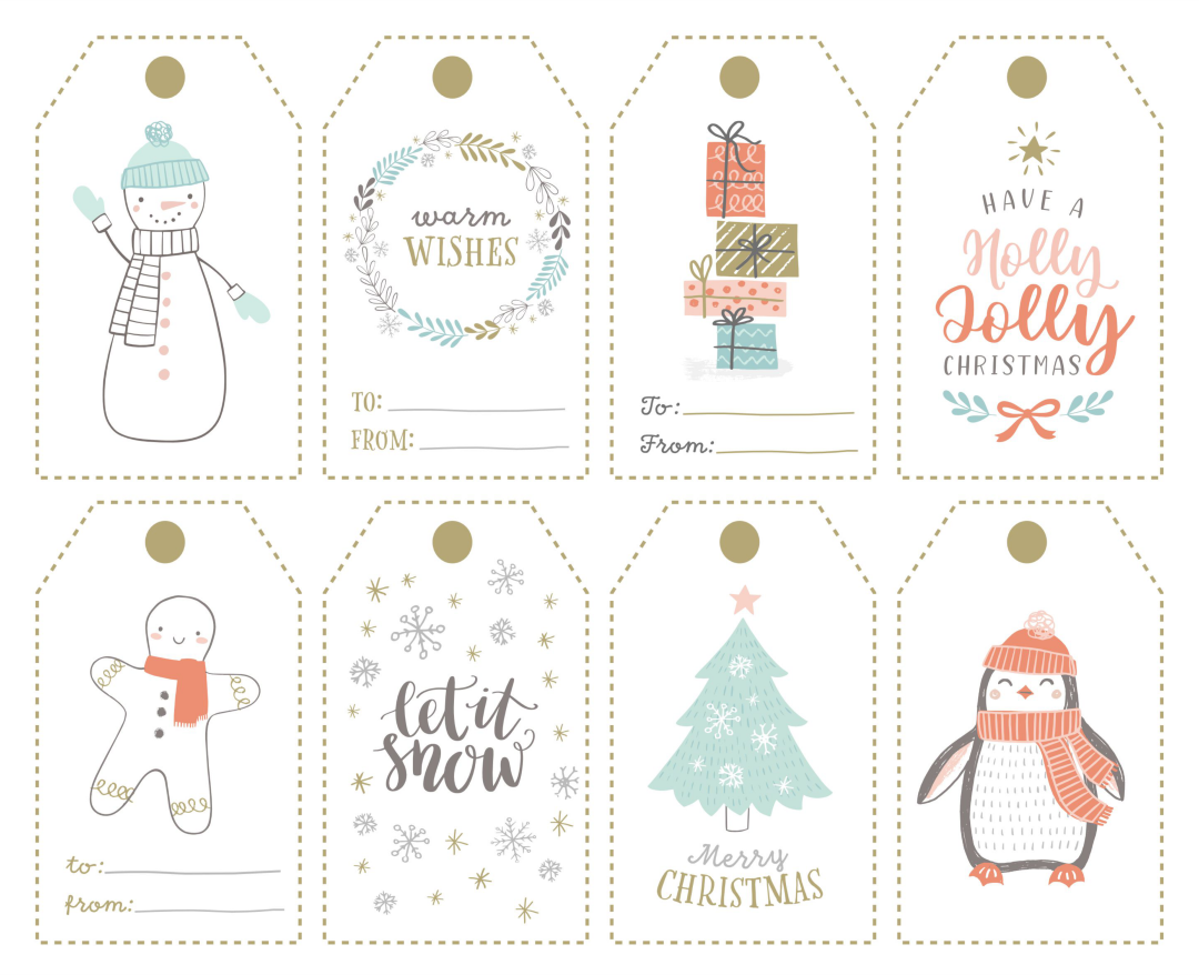 7 Best Images of Printable Christmas