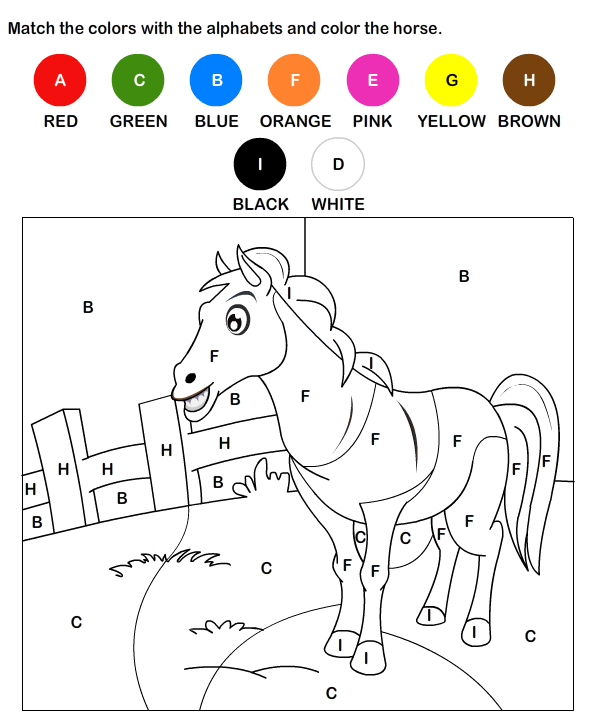7 Images of Worksheets Color By Letter Printable