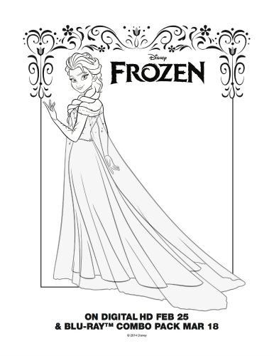 9 Best Images Of Printable Disney Elsa