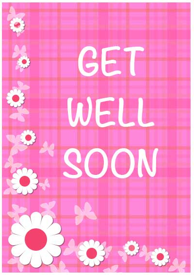 8 Images of Free Printable Get Well