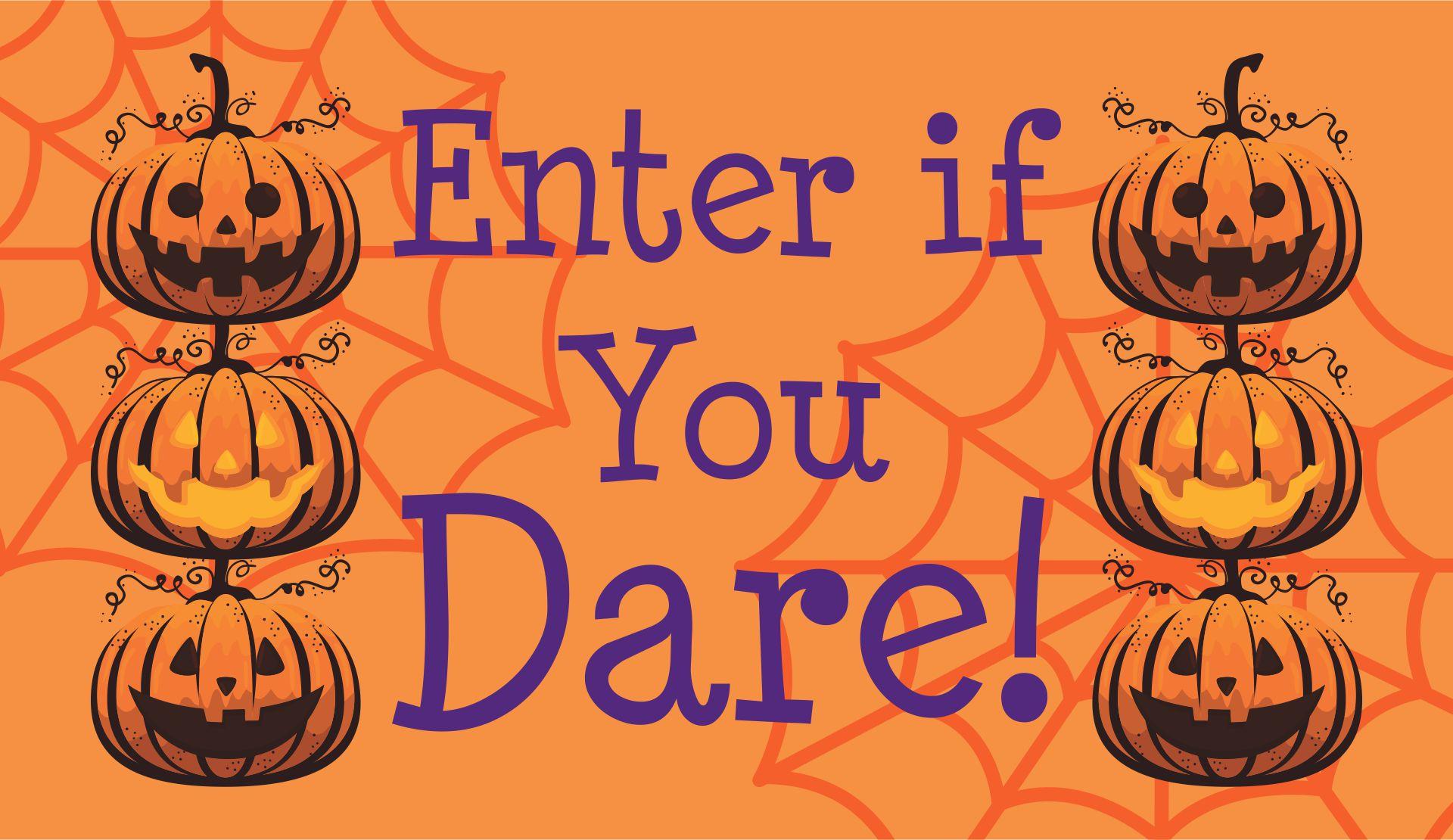 Printable Halloween Door Sign