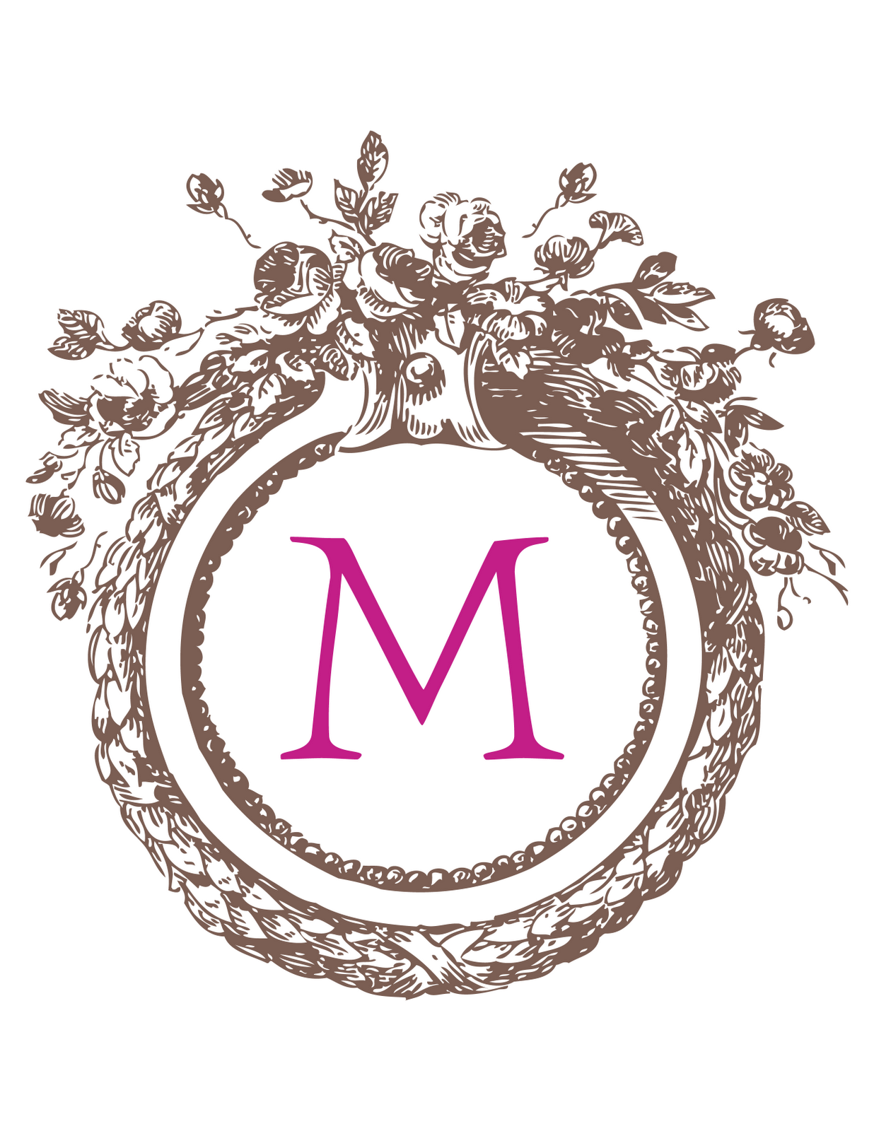 8 Best Images of Create Your Own Monogram Free Printable - Print ...