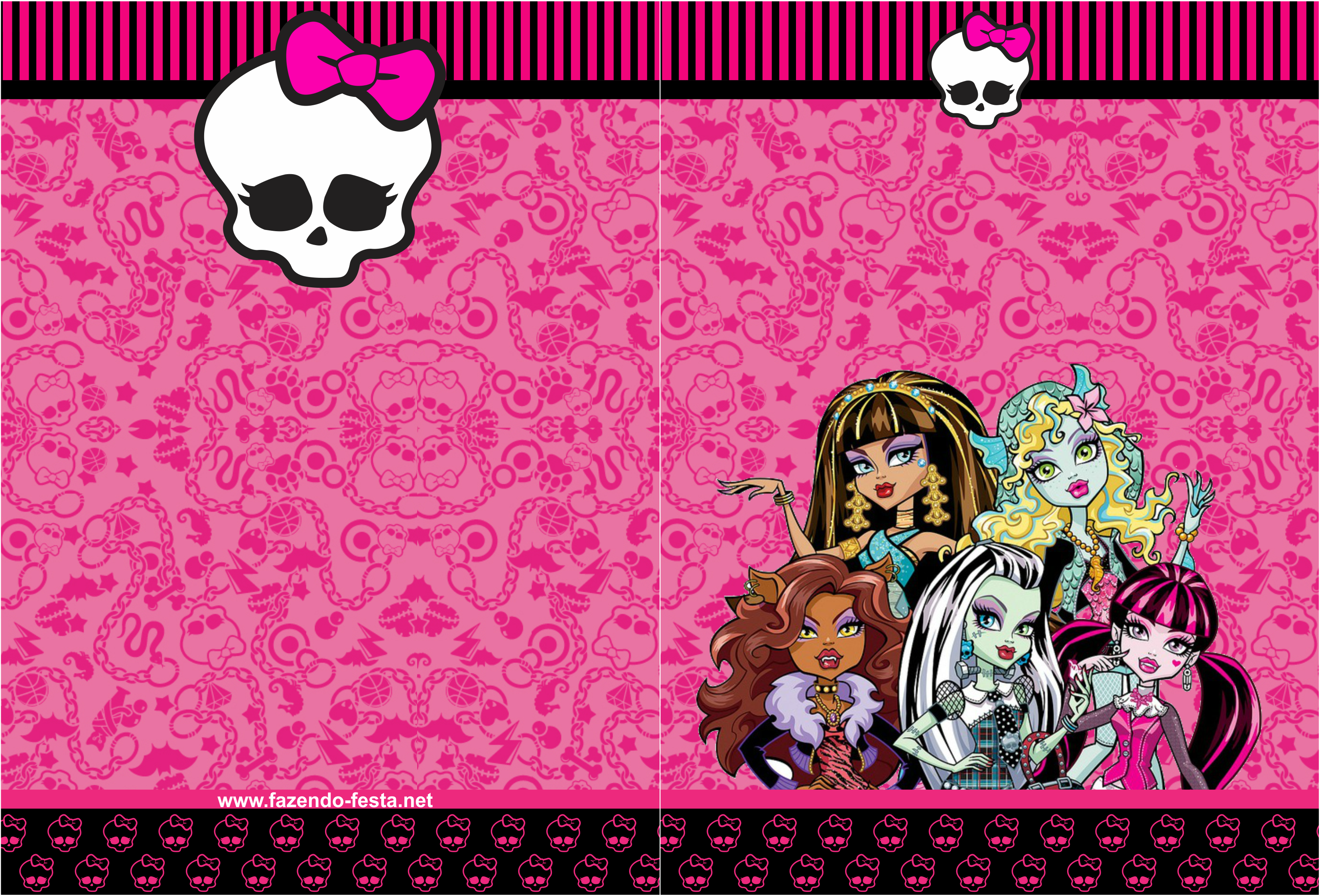 7 Images of Monster High Wallpaper Printables