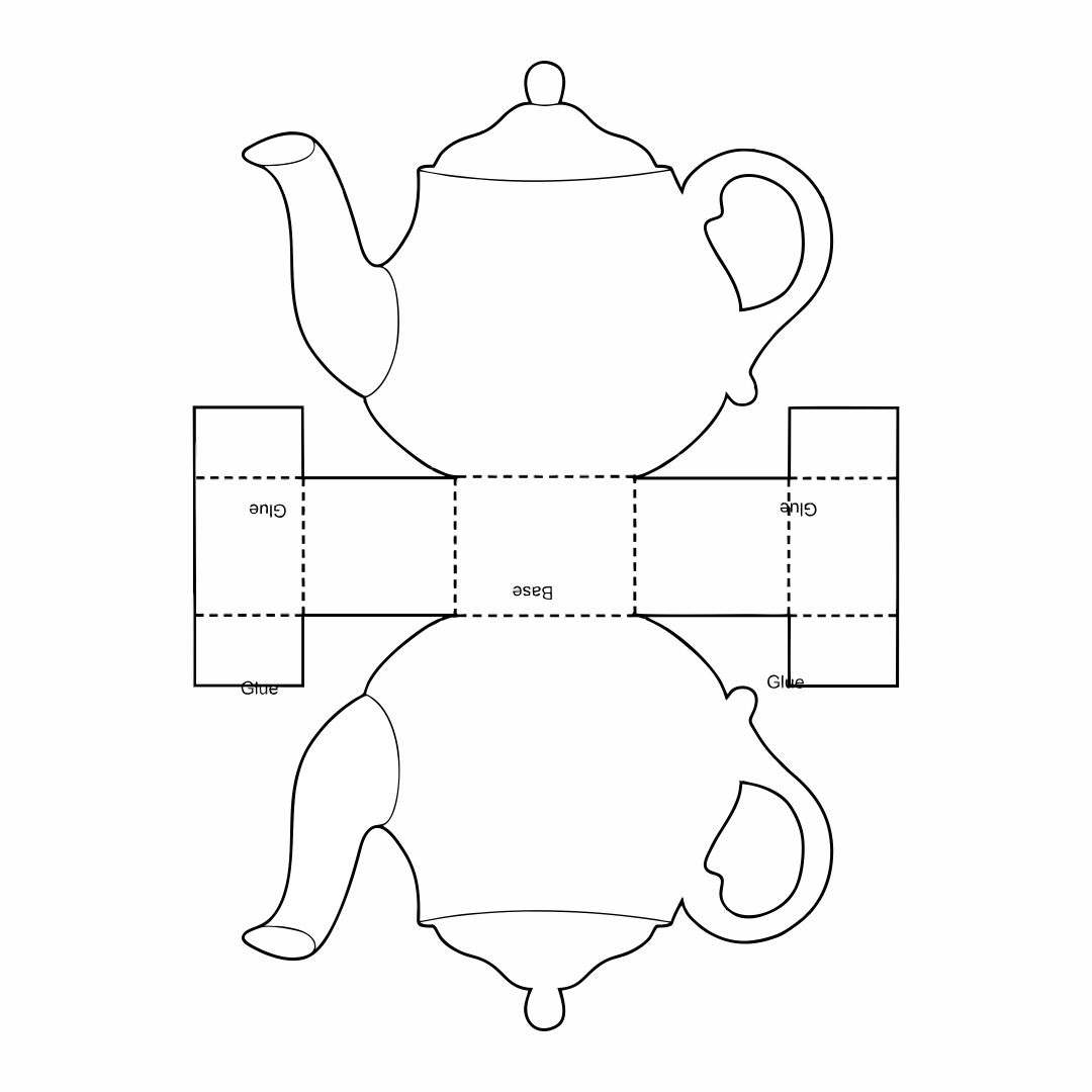 Printable Teapot Templates