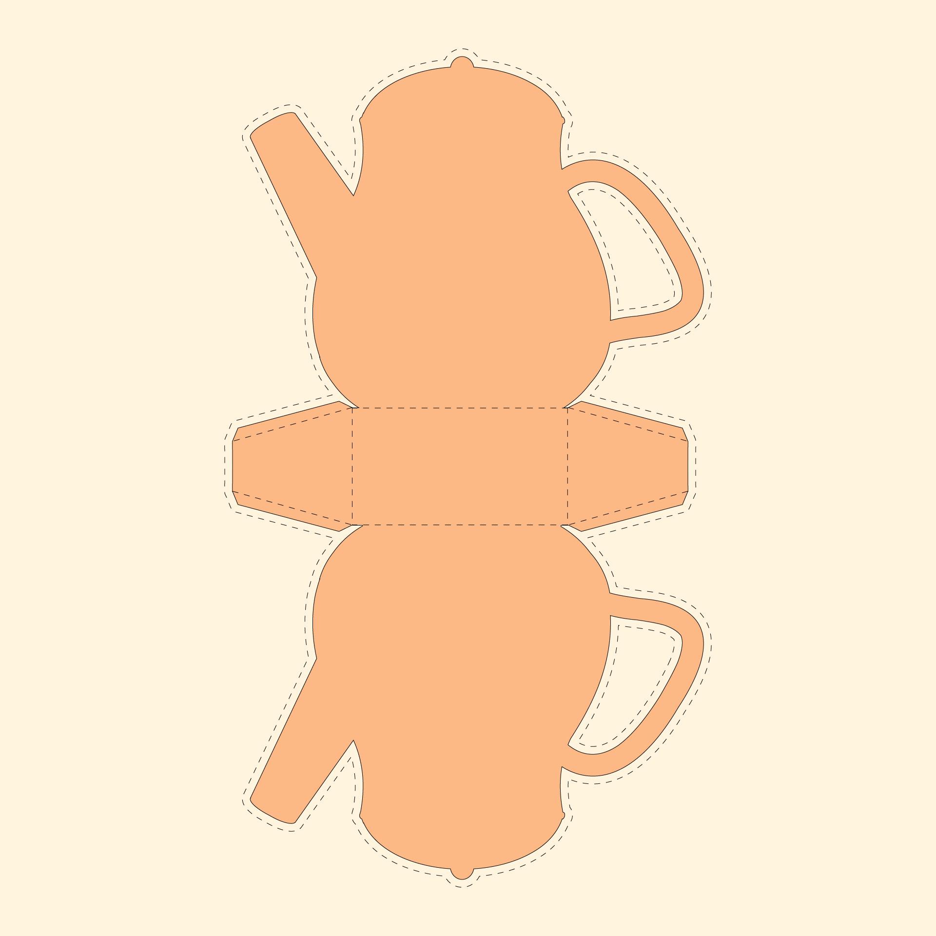 Printable Teapot Templates