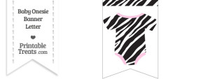 5 Images of Zebra Print Heart Free Printable Name Tags