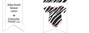 5 Images of Zebra Print Heart Free Printable Name Tags