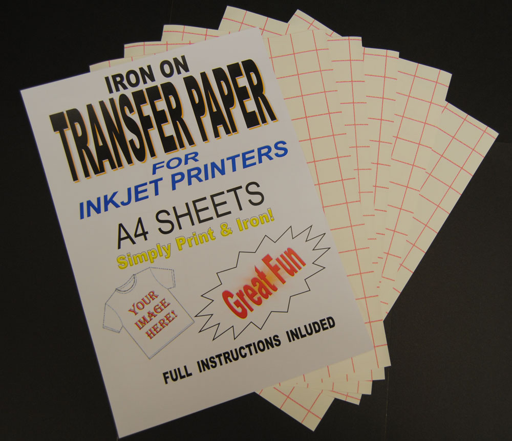 5 Images of Printable Iron On Transfer Sheets
